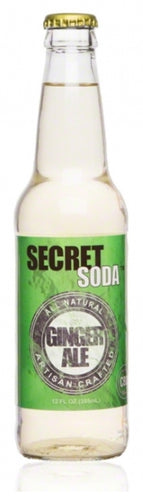 Secret Ginger Ale with Full Spectrum Hemp