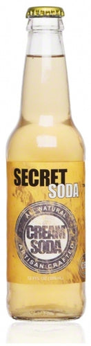 Secret Cream Soda with Full Spectrum Hemp