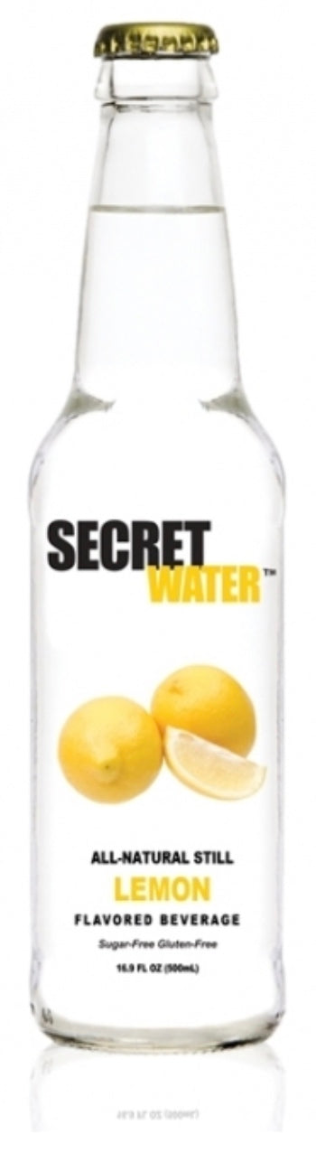 Secret Water Lemon with Full Spectrum Hemp
