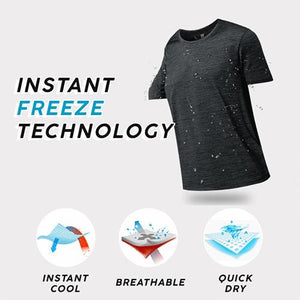 【 Best Sale】--Ice Silk Anti-Dirty Waterproof Quick Dry T-Shirt