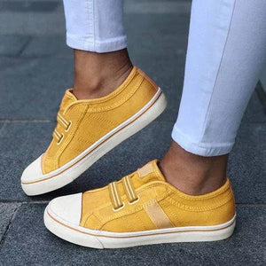 Women's elastic casual shoes