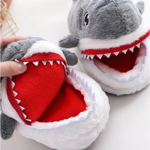'SHARK ATTACK & FRIENDS' SLIPPERS