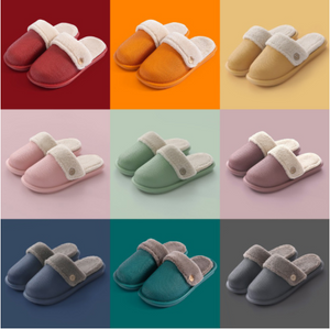 Removable Waterproof Non-Slip Cotton Slippers--Buy 2 Free Shipping
