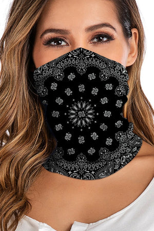 Digital Print Sportswear Face Mask