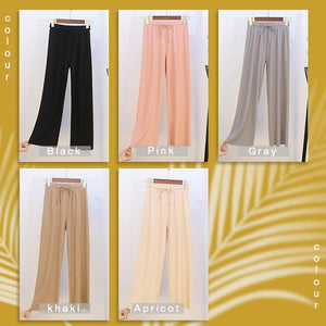 Women's Ice Silk Wide Leg Pants (50% OFF)