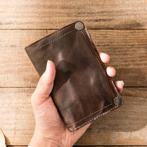 Retro Leather Wallet Multi-card Slots Wallet