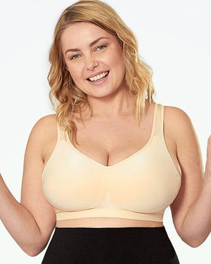 Truekind Daily Comfort Wirefree Shaper Bra - Girlsintrendy, Girls In Trendy
