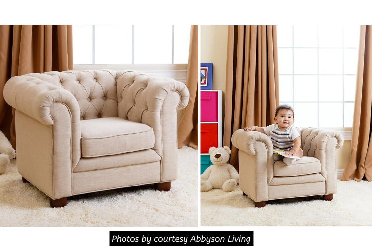 Abbyson RJ Kids Mini Fabric Chesterfield Club Chair Review - Superior Quality of Structure and Craftsmanship