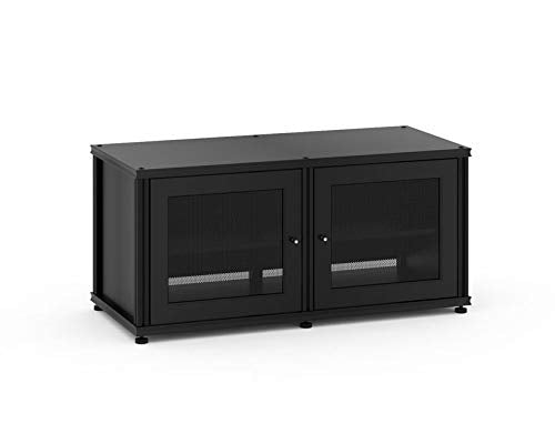 Salamander Synergy 221 Two-Shelved A/V Cabinet (Black/Black)