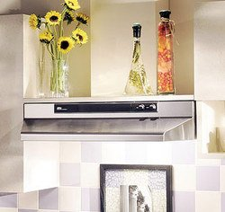 Broan 462404 Under-Cabinet Range Hood with Infinitely Adjustable Speed Control, 24-Inch, Stainless Steel