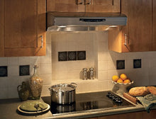 Load image into Gallery viewer, Broan QS236SS Allure II Under-Cabinet Range Hood, 36-Inch, Stainless Steel