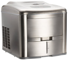 Load image into Gallery viewer, Lello TS-0612B Fully Automatic Compact Ice Maker, Stainless Steel