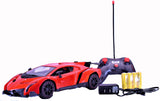 Lamborghini Veneno Rechargeable Battery Operated Remote Control Car – Hit With Kids and Adults - 1/14 Scale