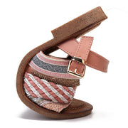 Women Casual Bohemia Open Toe Buckle Flat Sandals
