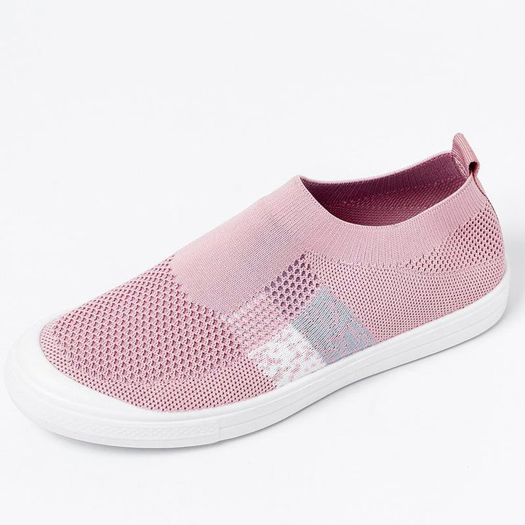 Women's Flyknit Breathable Mesh Vulcanized Sock Shoes