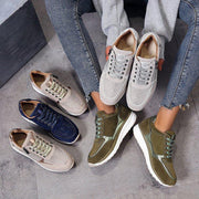 Women's Fashion Breathable Non-slip Lace Up Casual Shoes
