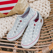 Women's Summer Denim Star Sneakers