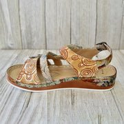 Women's Retro Pattern  Comfy Casual Sandals