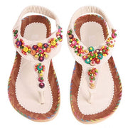 Women's Comfy Summer Bohemia Thong Sandals