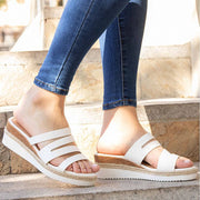 Women's Opened Toe Beach Wedges Casual Slide Sandals