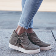 Women's Slip-On Denim Sneaker Wedge