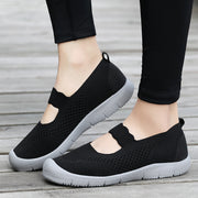 Women Breathable Mesh Hook Loop Lightweight Casual Shoes