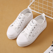 Women's Lace Platform Breathable Casual Mesh Casual Shoes