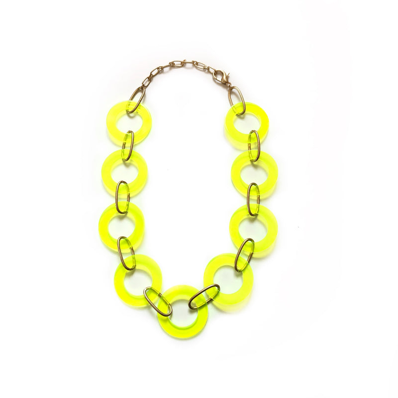 LARIS NECKLACE-19070220-GREEN