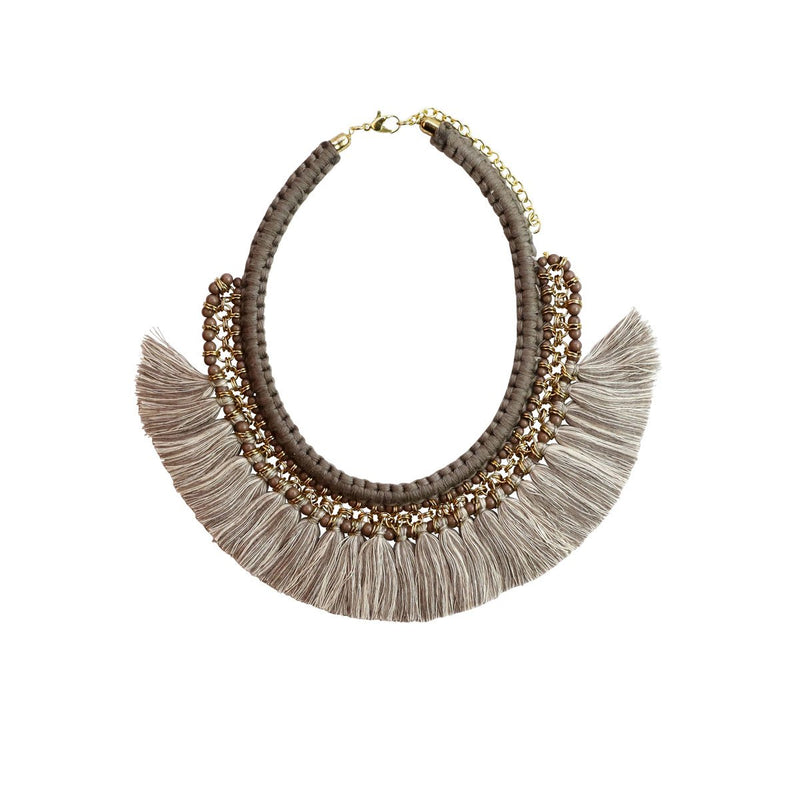 Gypsy Necklace-VC201-Brown