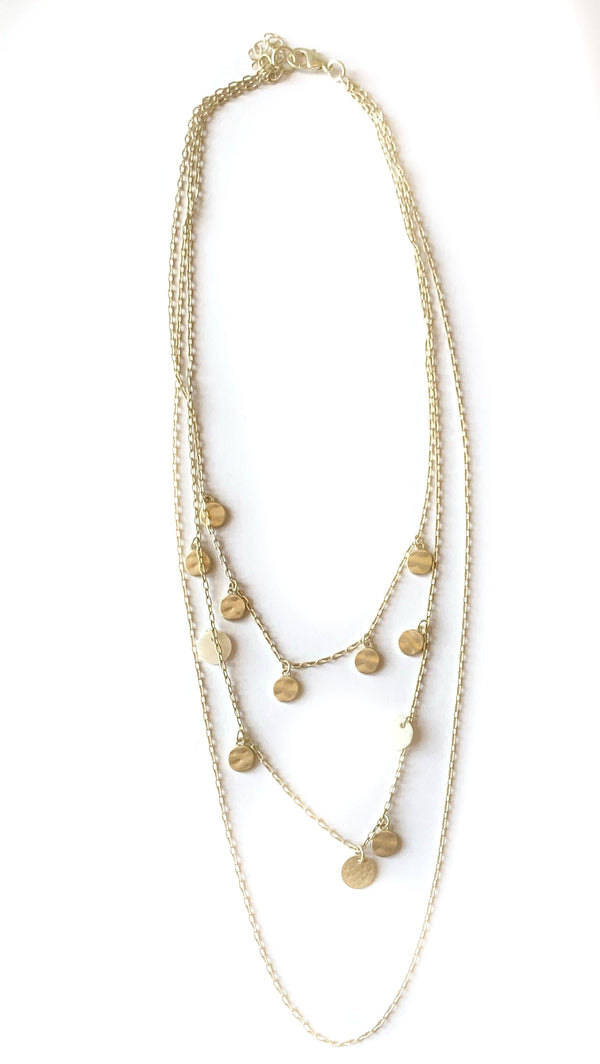 91631N-NECKLACE-GOLDSILVER