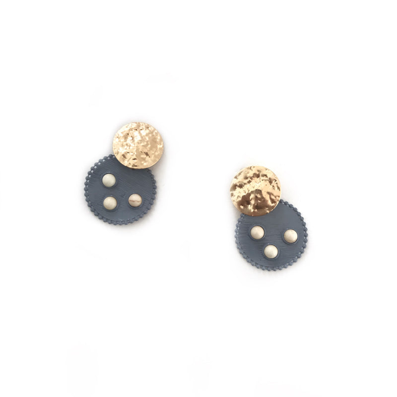 Ally Earrings-AL91307-Grey