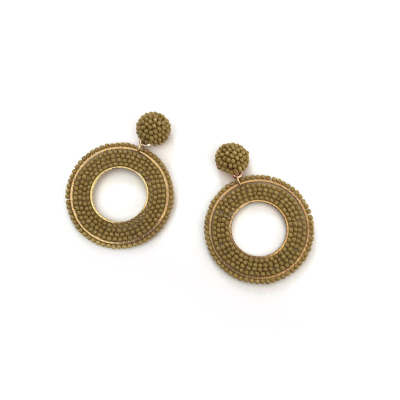 Janila Earrings-FJEA10449-Green