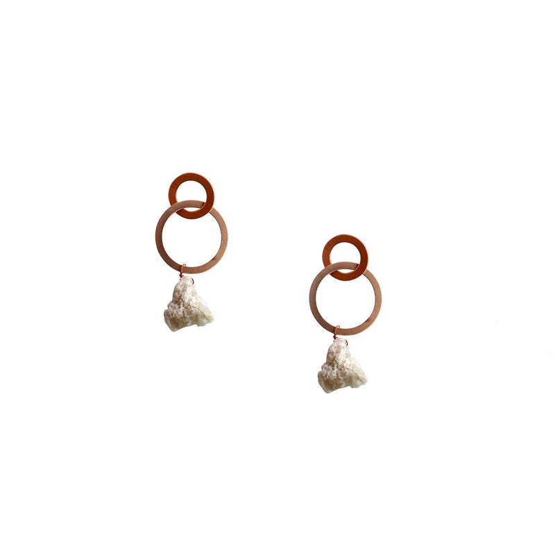 Ava Earrings-17121127-Rosegold
