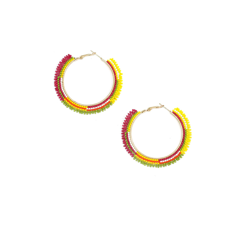Jessica Earrings-FJEA8461-Multi