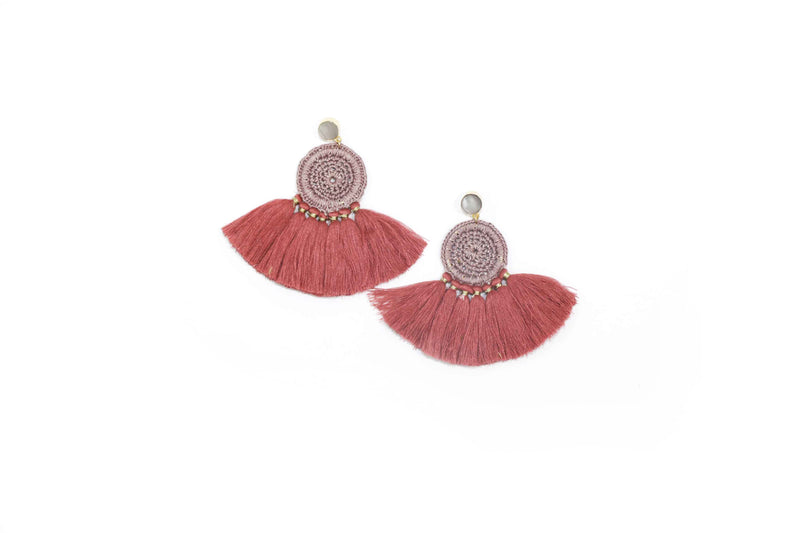 Evi Earrings-FJEA6553-Pink