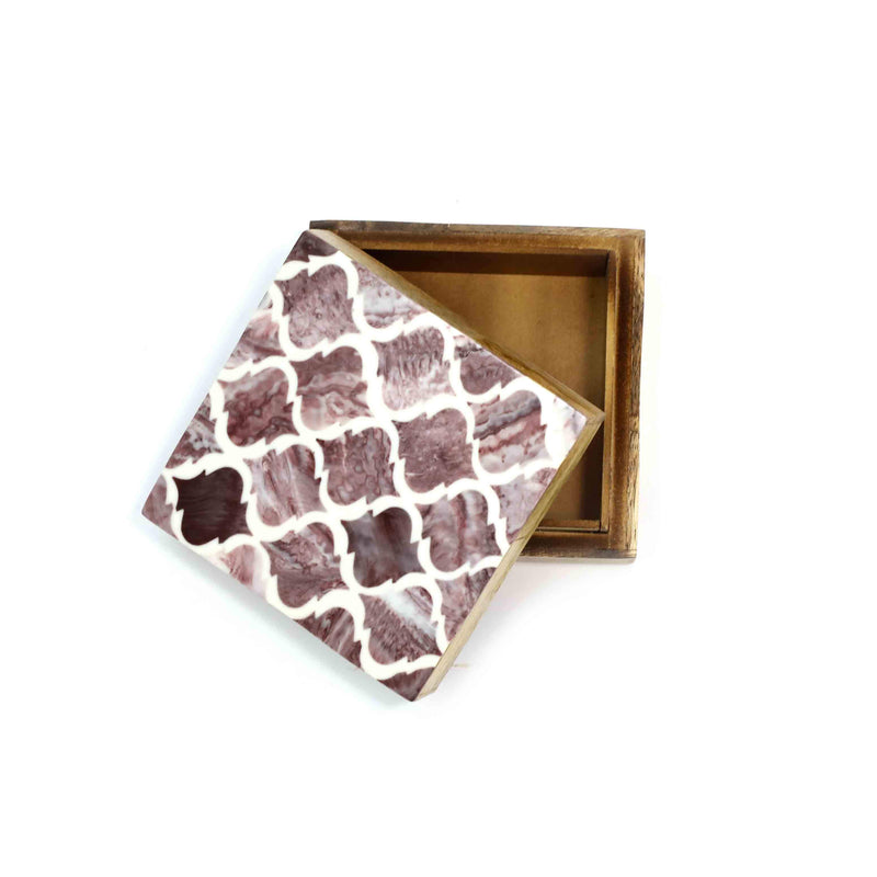 Claudia Trinket Box-DG42-6x6