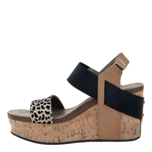OTBT - BUSHNELL in DESERT Wedge Sandals