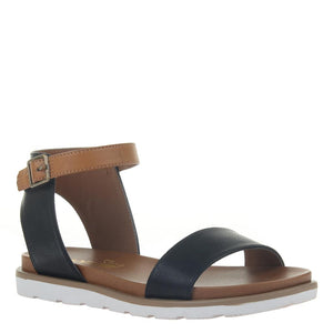 MADELINE GIRL - STARLING 2 in BLACK Flat Sandals