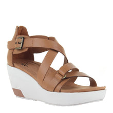 Load image into Gallery viewer, OTBT - TERESA in BOXWOOD Wedge Sandals