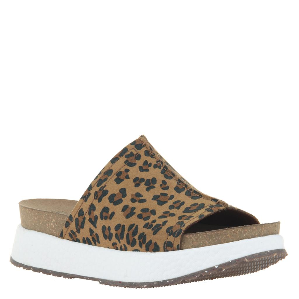 OTBT - WAYSIDE in LEOPARD PRINT Wedge Sandals