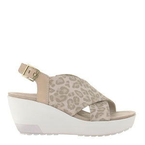 OTBT - YVONNE in PEBBLE Wedge Sandals