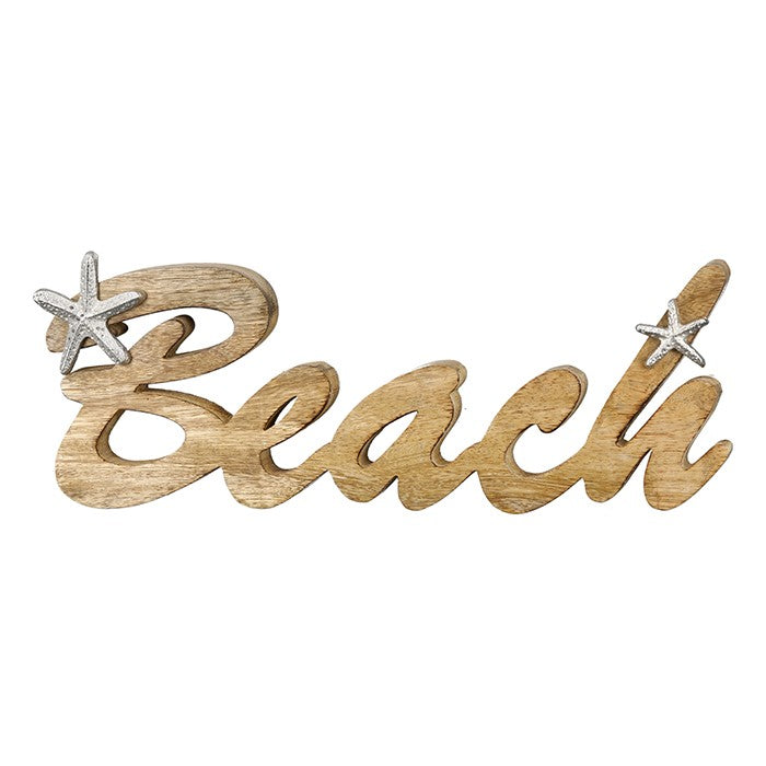 """Beach"" Natural Sign £8"