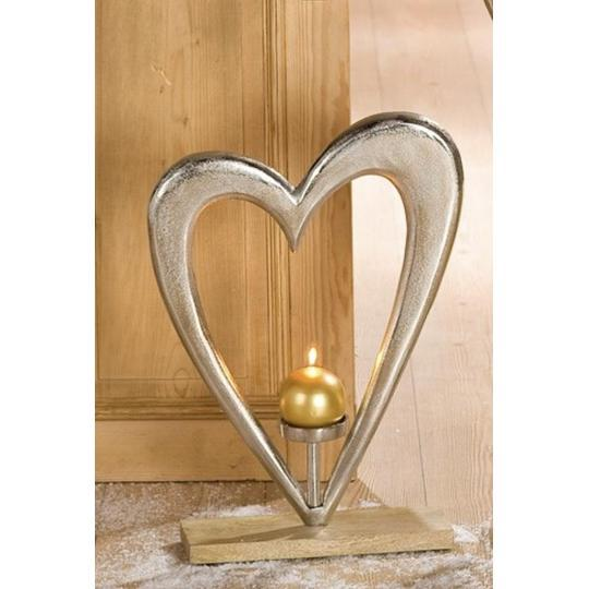 """Big Heart"" Candle Holder £27"