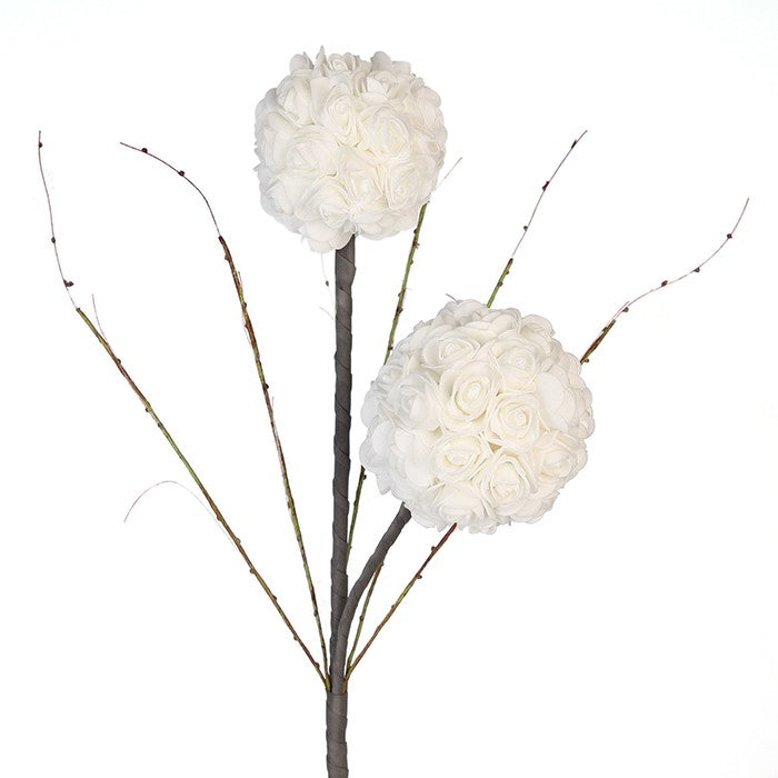 """Couture"" Ball White Stem £8.95"