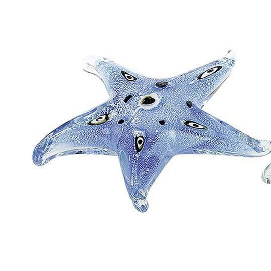 Hand Blown Star Fish £5.70