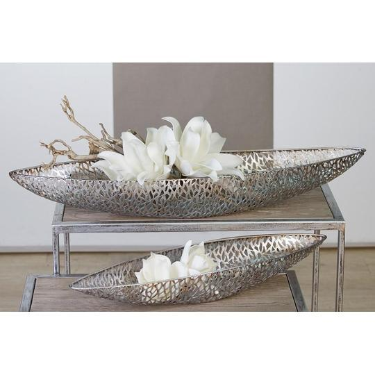 Maze Large Silver coloured Long Dish £19.75