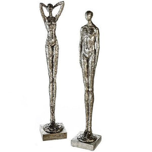 Large Silver Figures Two Assorted £25.25