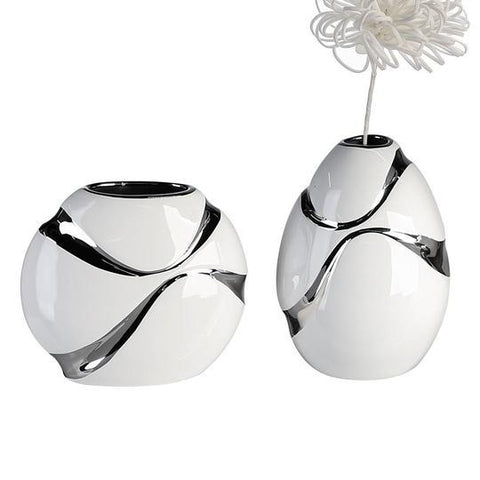 Luxe Egg shape Vase £7.65