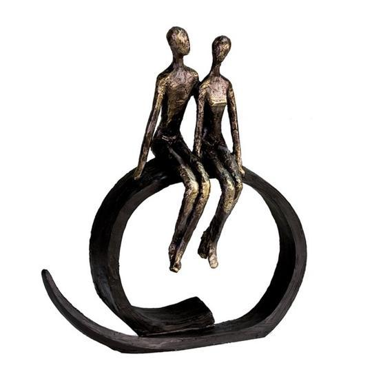 Lets Talk couple on Black Stand £38.45