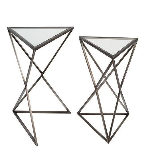 """Triangle"" Set of 2 Side Table £72.00"